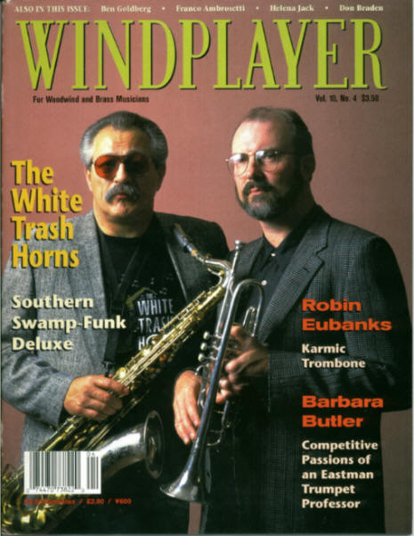 Jon & Steve Howard on the cover of Windplayer Magazine